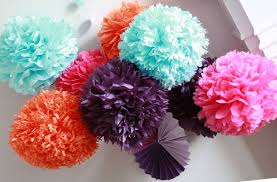 Manly How To Diy Paper Pom Tutorial Also How To Diy Paper Pom Tutorial  Decorations That