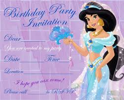 invitations page 83 of 110 mickey mouse invitations templates princess jasmine party invitation · blank birthday