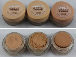 Maybelline New York Dream Matte Mousse Foundation Review
