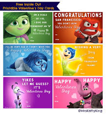 disney valentine s day cards to print. Beautiful Valentine Free Inside Out Printable Valentines Day Cards With Disney Valentine S To Print H