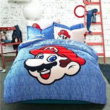 super mario bros bedding set super mario brothers twin comforter sheet set