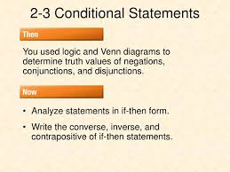 Write A Conditional Statement From The Venn Diagram Ppt 2 3 Conditional Statements Powerpoint Presentation