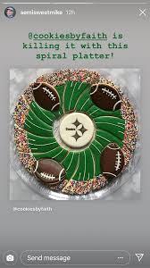 Football Cookie Cake Designs Pin On Cookies