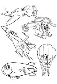 Images Of Transportation Coloring Pages For Preschoolers
