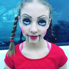 colorful puppet makeup for kids