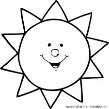 Small Picture sun coloring page presxhool Google Search April Pinterest