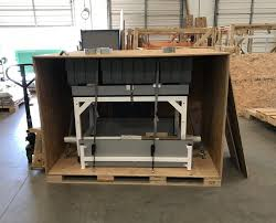 shipping crate furniture. Formaspace Custom Crate Shipping Furniture
