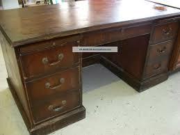 antique office table. Luxury Distressed Office Desk Design : Fresh 7316 Executive Wood Desks Antique Solid Table E