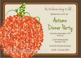 Fall Party Invitations Fall Party Invitations For Owning A