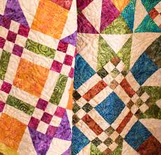 6 Brilliant Batik Quilt Kits to Sew & Moda Essential Dreaming Quilt Kit by Edyta Sitar Adamdwight.com