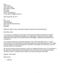 10 Cover Letter For Warehouse Associate Recommended Www Mhwaves Com
