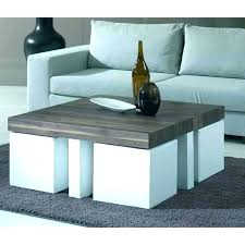 coffee table with nested ottomans nesting ottoman nesting ottoman coffee table with nesting ottoman coffee table
