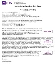 Wasserman Cover Letter Best Practices Guide | NYU Wasserman Center ...