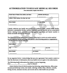 Medical Record Form Template - Arch-Times.com