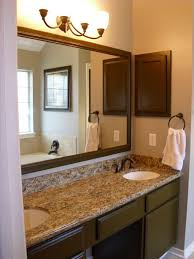 exclusive home design modern bathroom wall mirror light bathroom design  uplight wall sconces applied above franed over