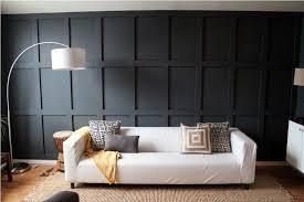 modern wood paneling diy