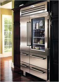 refrigerator with glass door full size of twin freezer for home impressive formidable sub zero 36