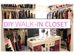 fascinating building a walk in closet small bedroom including diy inspirations pictures
