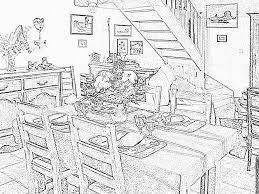 Coloriage Maison Paulhac 1 Imprimer Pour Les Enfants Dessin