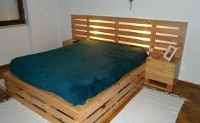pallet bed frame instructions twin diy queen size