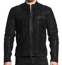black premium enigma men s leather biker jacket moto black