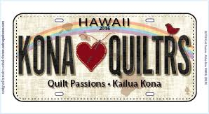 Plate - Quilt Passions - 2016 & License Plate - Quilt Passions - 2016 Adamdwight.com