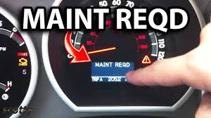 2005 Seadoo Maintenance Light Reset Maintenance Required Light On In Your Car What It Means And How To Reset It