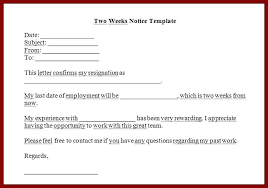 Template Letter Of Resignation From Employment Res Letter Highlight