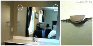 appealing how to remove a bathroom mirror glued to the wall remove wall mirrors glued wall