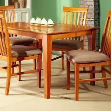 shaker 54 x 54 dining table w erfly leaf extension dcg s solid wood dining table