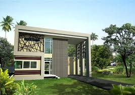 Creative Double Story Modern House Plans Inside House  ShoisecomTwo Storey Modern House Designs