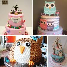 Whoo Loves YouOwl Baby Shower Cakes For A Girl