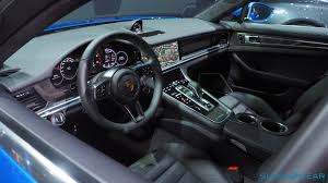 porsche panamera interior. 2017 porsche panamera 4s and turbo every techieu0027s dream car slashgear interior