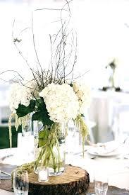 centerpiece for round table wedding centerpieces for round tables curtain fascinating centerpiece round table white hydrangea and tree stump wedding wedding