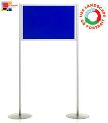Free Standing Display Board Portable Display Panel Stand Pole and Panel Display Rap Industries 74