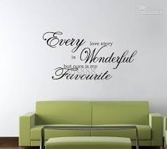 yw1028 60 80cm wall words lettering saying wall decor sticker vinyl wall art stickers decalshigh hand painted high quality wall decal vinyl wall decals from