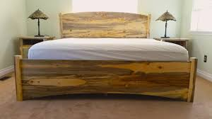 Knotty Pine Bedroom Furniture Bed Queen Haynes Furniture Virginiaus Storage Knotty Pine Bed
