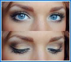 natural eye makeup for blue eyes
