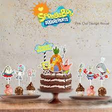 Jual Spongebob Squarepants Cake Topper Hiasan Kue Kab Tangerang