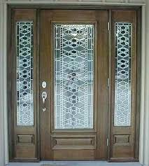 glass designs for front doors entry doors with glass stained glass front entry door with side