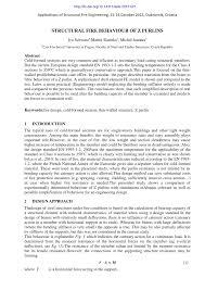Z Purlin Weight Chart Pdf Structural Fire Behaviour Of Z Purlins