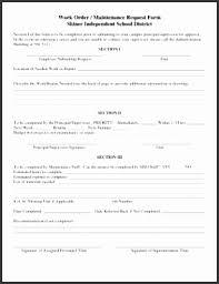 8 Building Maintenance Request Form Template Sampletemplatess