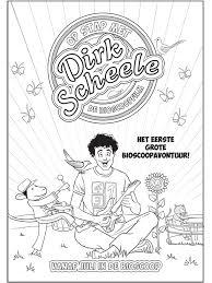 Kleurplaat Dirk Scheele Kleurplatennl
