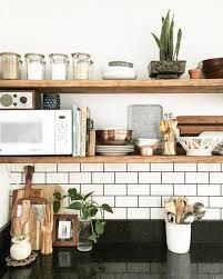 how to cookbooks on open shelves