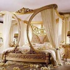 Beautiful and elegant bedrooms with princess bed canopy or girls bed ...