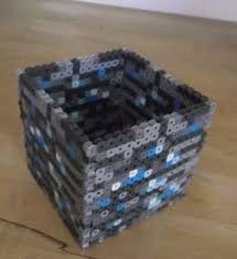 3d tnt minecraft box 3 x 3 size perler beads minecraft and minecraft diamond ore pencil box