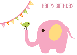 happy birthday pink and green greeting card happy birthday green bird