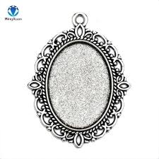 oval frame tattoo design. Filigree Frame Lot Antique Silver Bronze Tone Oval Cameo Settings In  Jewelry Findings Oval Frame Tattoo Design