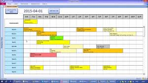 Microsoft Daily Planner Microsoft Access Interactive Work Load And Capacity Planner YouTube 15