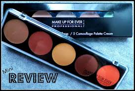 make up forever 5 camouflage cream palette thoughts